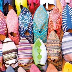 tradiční marocká obuv