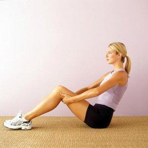 žena cvičení