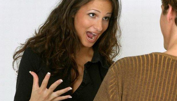 žena muž hádka