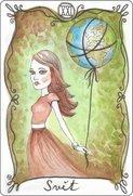 Tarot karta svět
