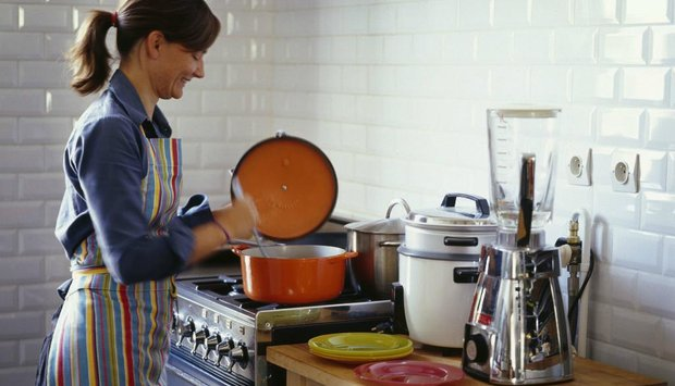 vlídná kuchařka