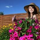 žena zahrada