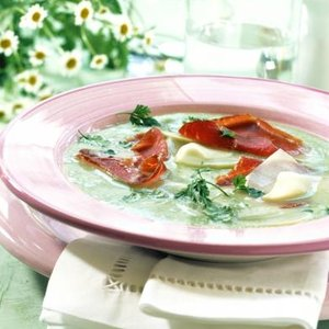 menu kedlubny polévka