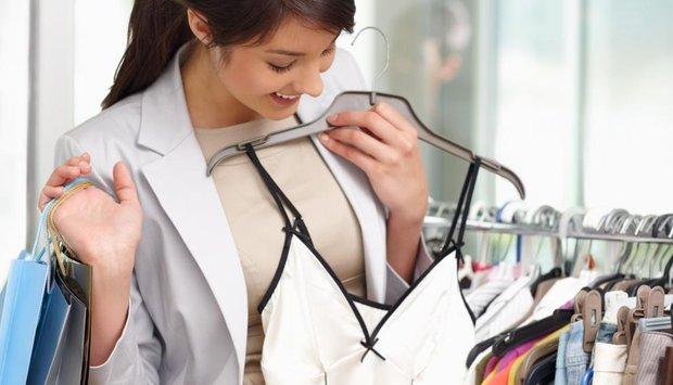 oblečení žena nákup