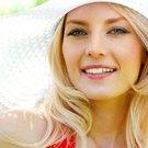 žena léto klobouk