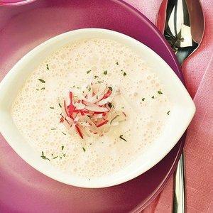 menu 27 duben polévka ředkvičky