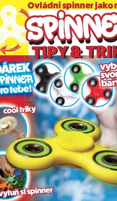 Právě vychází unikátní Spinner magazín, k němu získáte spinner jako dárek!