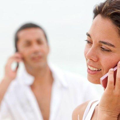 muž žena telefon