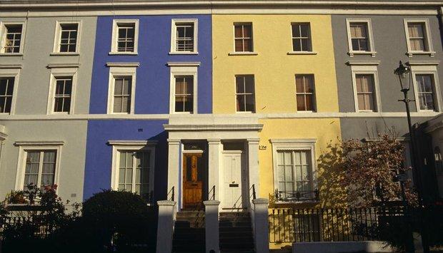 řadový dům Notting Hill