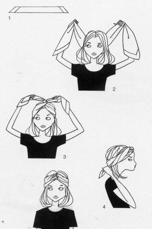 Hrátky s šátky - Ach, ty vlasy