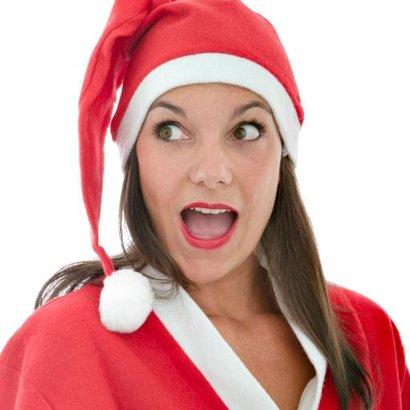 vánoční žena