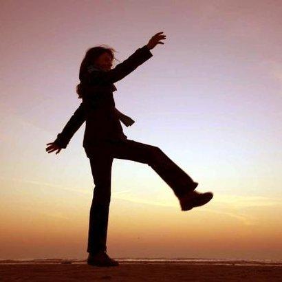 žena krok