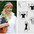 šátek hlava