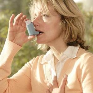 žena astma