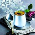 jogurt dekorace stříbrná