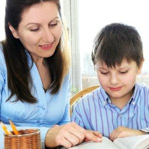 žena syn učení