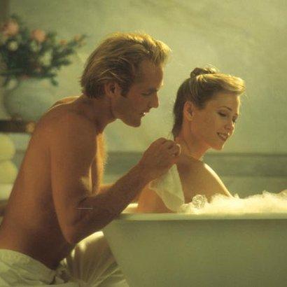 muž žena koupel