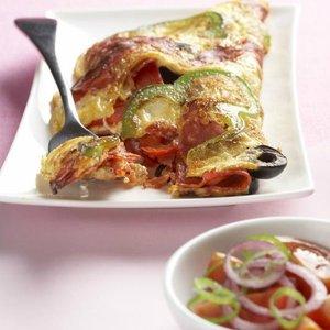 menu salám omeleta