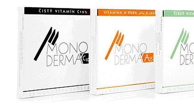 vitamíny Monodermá