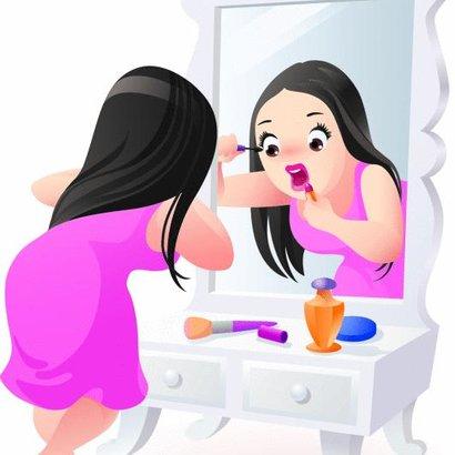zrcadlo žena 4