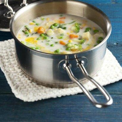 Jemná zeleninová polévka