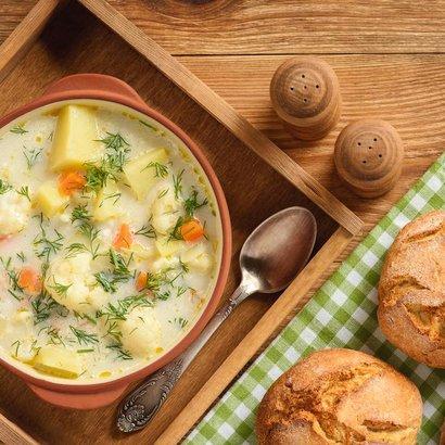 Šunkový týden: Květáková polévka se šunkou