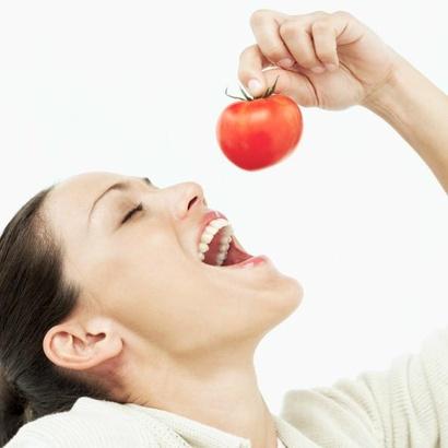 žena rajče