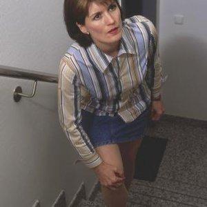 žena schody