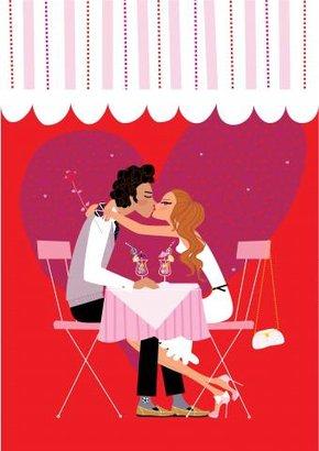 grafika žena muž láska