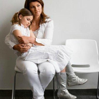 žena dcera nemoc