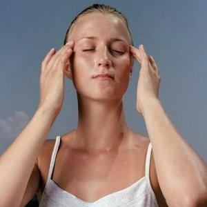 masáž hlavy