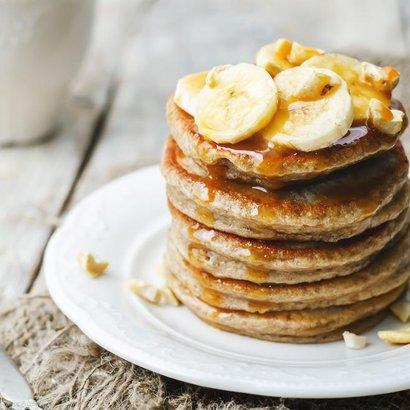 Vylepšete lívance banánem a speciální rychlou dýňovou marmeládou