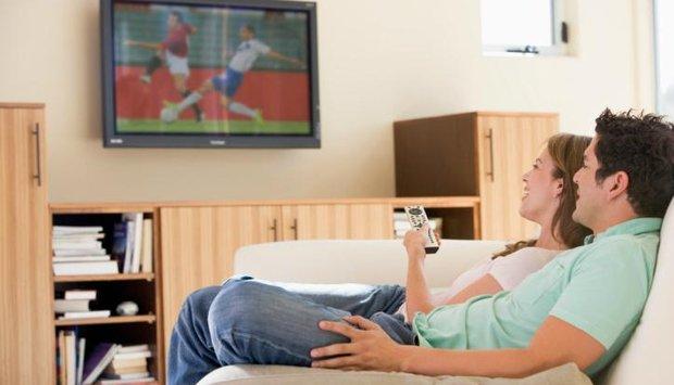 žena muž fotbal
