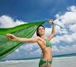 žena pláž