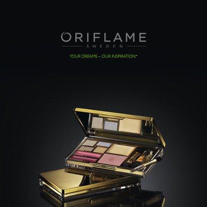 oriflame paletka logo