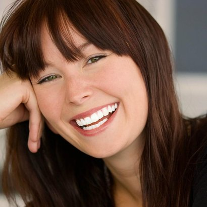 žena zuby úsměv