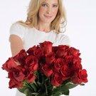 žena růže