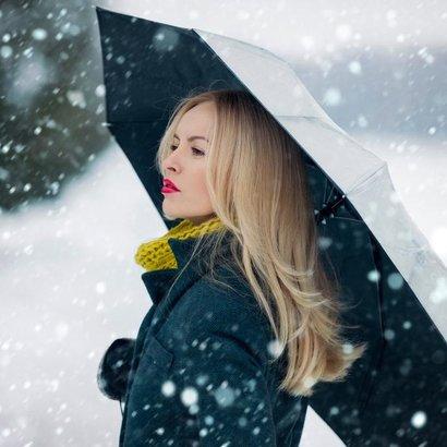 Vlasy v zimě