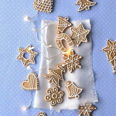 recept vánoční perníčky