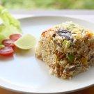 Rýžový salát se šitake
