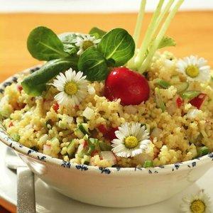 recept jáhlový salát s ředkvičkou