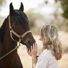 žena kůň