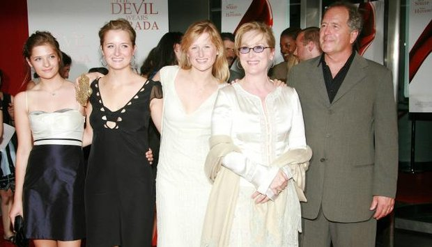 Meryl Streep s rodinou