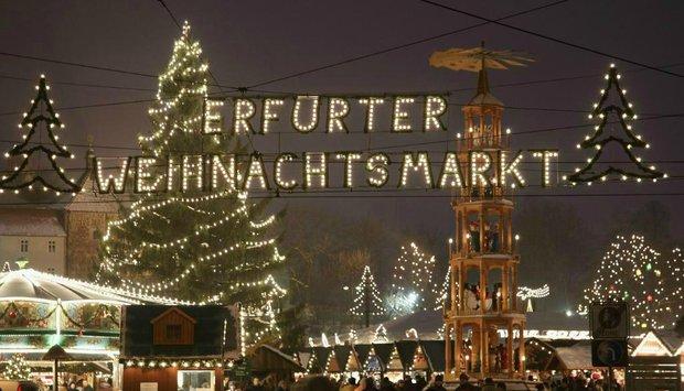 Vánoční trhy Erfurt