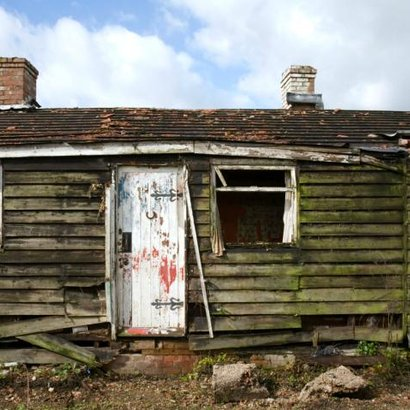 ošklivý dům
