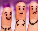 typy osobnosti prsty