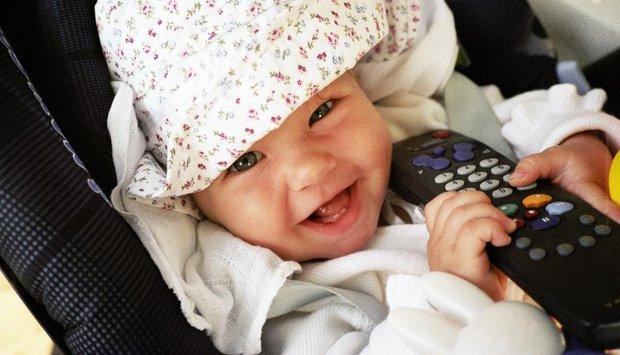 dálkové ovládání dítě