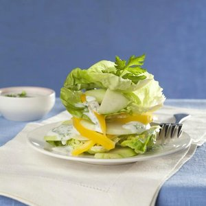 menu 27 duben salát s kefírem