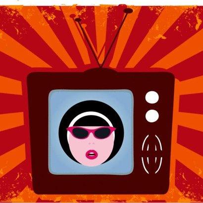 žena televize