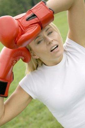 žena boj